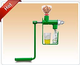 home hand operated oil expellerr